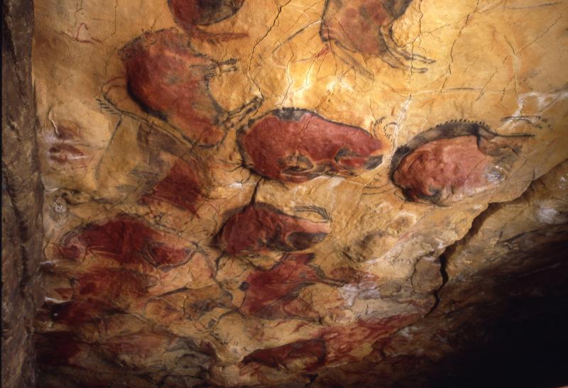 Neocueva. Sala policromos © Museo de Altamira. Foto: Pedro Saura